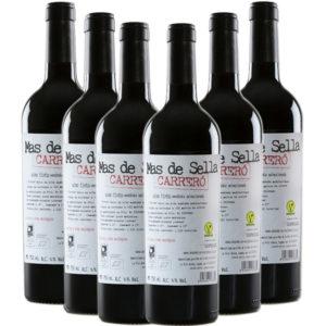 Tienda caja 6 botellas vino Carreró