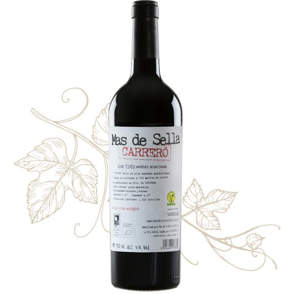 Botella vino Carreró Tienda