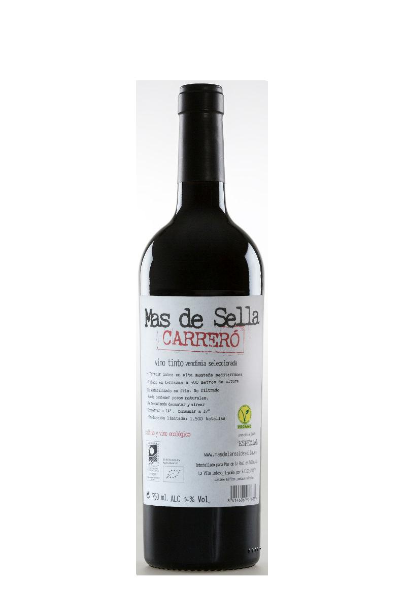 Vinos Carrero botella