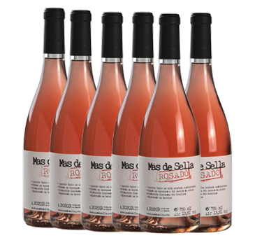 Mas de sella rosado caja 6 botellas